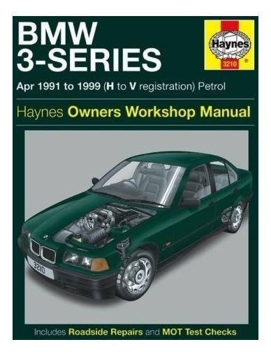 Manual Haynes De Bmw Série 3 318 325 328 Z3 1991 A 1999