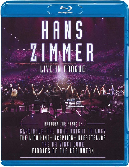 Blu Ray Hans Zimmer Live In Prague
