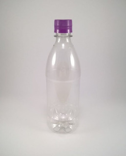 220garrafa Pet 500ml Água Refrigerante Suco C/ Tampa Lacre