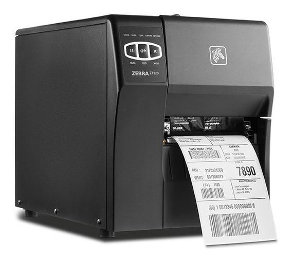Impressora Térmica Zebra Zt220 Seminova Com Garantia!!!