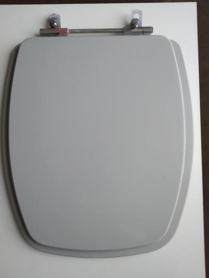 Assento Sanitário Stylus Mdf Cinza