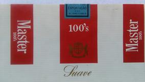 Marquilla Master 100s Suave Brasil