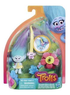 Trolls Tuerce Y Estiliza Figura C1300 Bebe Troll Hasbro Edu