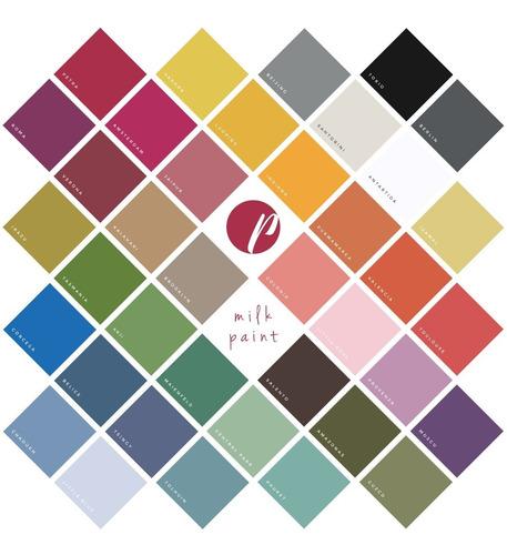 Imagen 1 de 1 de Combo Pintalatte Milk Paint - Pack X 6 - Colores A Elección