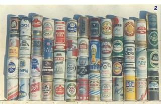 Lote Total De 4.500 Latas De Cerveza.años 1964/2014