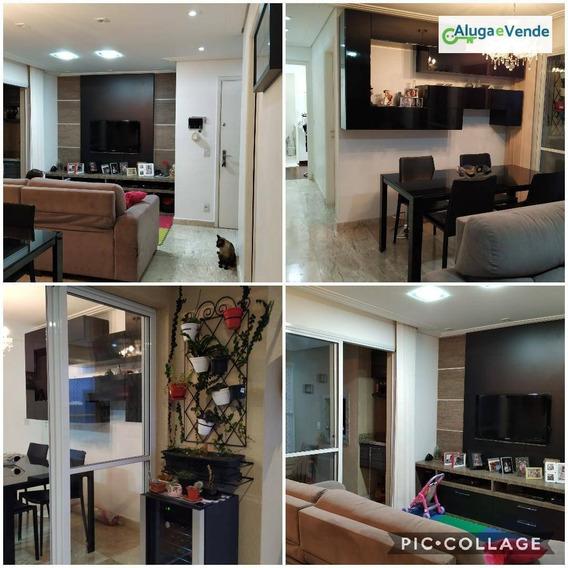 Apartamento Com 3 Dormitórios À Venda No Condomínio Parque Clube Por R$ 600.000 - Vila Augusta - Guarulhos/sp - Ap0070