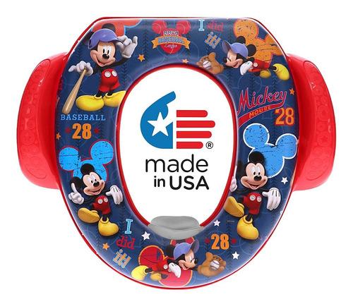 Disney Mickey Mouseall Star Soft Potty Seat