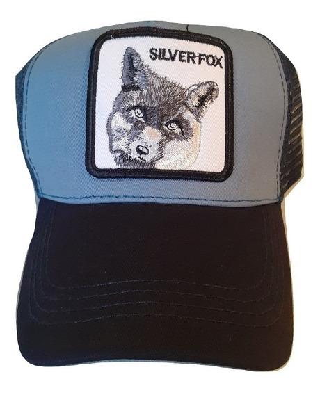 Gorra Estilo Goorin Bros Silver Fox