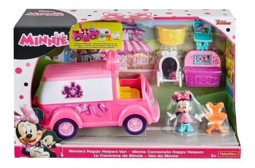 Club House Camioneta Happy Helpers Minnie Fisher Price