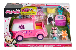 Club House Camioneta Happy Helpers Minnie Fisher Price