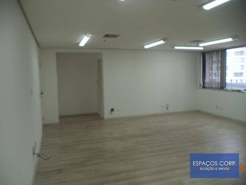 Conjunto Comercial À Venda, 49m² Por R$ 515.235 - Moema - São Paulo/sp - Cj1945