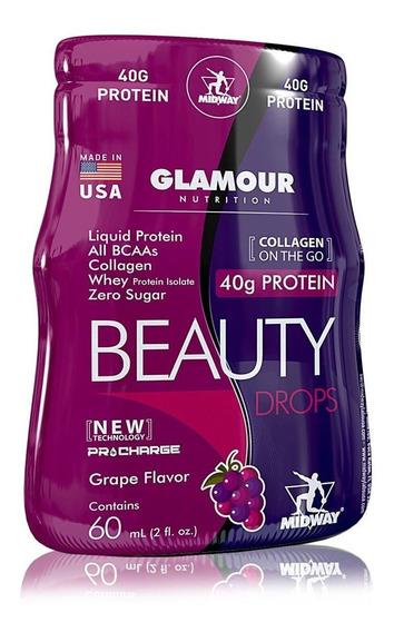 Bebida Proteica Beauty Drops Protein Glamour 60ml Un -midway