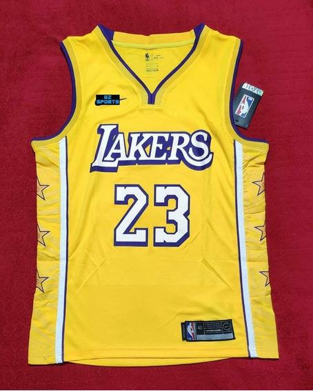 Lebron James #23 La Lakers City Edicion Temp. 20 - A Pedido