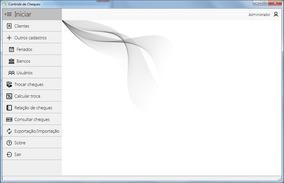 Promoção!!! Software Factoring: Cálculo Juros De Cheques