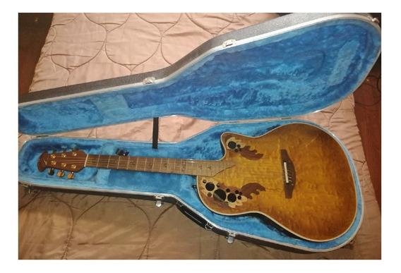 Guitarra Ovation De Coleccion. Flamante