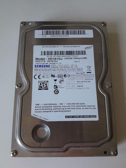 Disco Duro Samsung 160 Gb