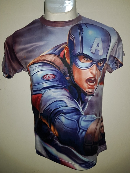 Playera Capitán América