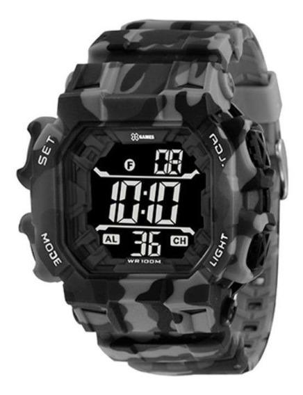Relógio Xgames Masculino Xtyle Camuflado Xgppd140pxgp