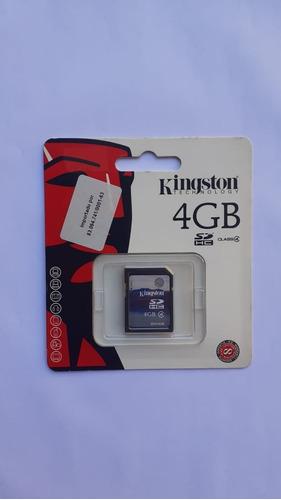 Kingston 4gb Class 4 - Sdhc Card - Retail - Sd4/4gb