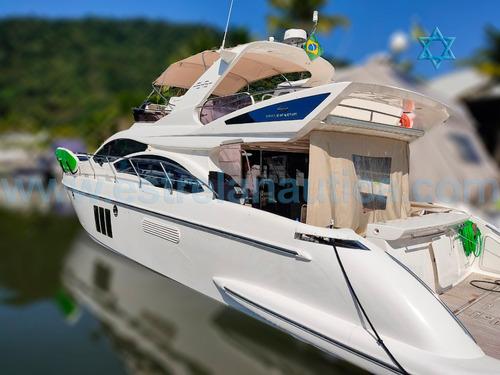 Imagem 1 de 14 de Lancha Intermarine 545 Iate Ferretti Azimut Axtor Cranchi