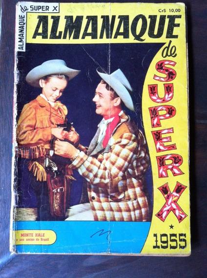 Almanaque Super X 1955 Original