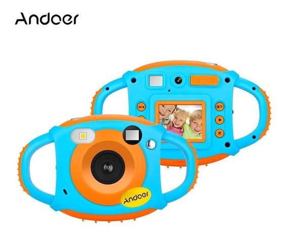 Andoer Wifi Crianças Criativas Câmera 5mp