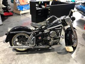Harley De Colección Increíble Sin Restaurar Impecable