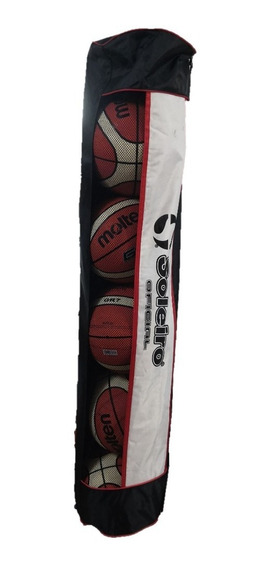 Balonera 6 Balones Fútbol Basquetbol Voleibol + Envío Gratis