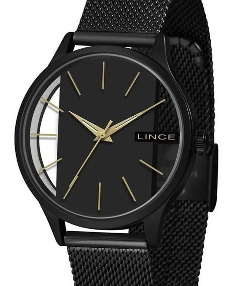 Relógio Lince Feminino Preto Lrn624l P1px