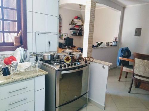 Sobrado Com 3 Dormitórios À Venda, 190 M² Por R$ 720.000,00 - Vila Augusta - Guarulhos/sp - So0663