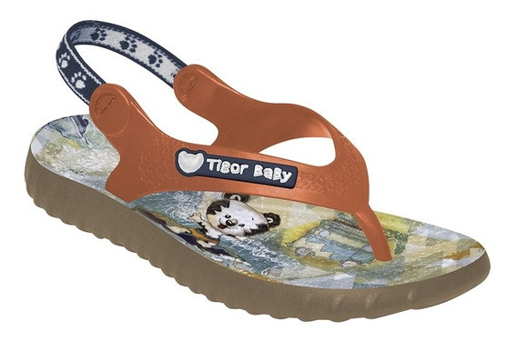 Chinelo Tigor T. Tigre Baby Laranja
