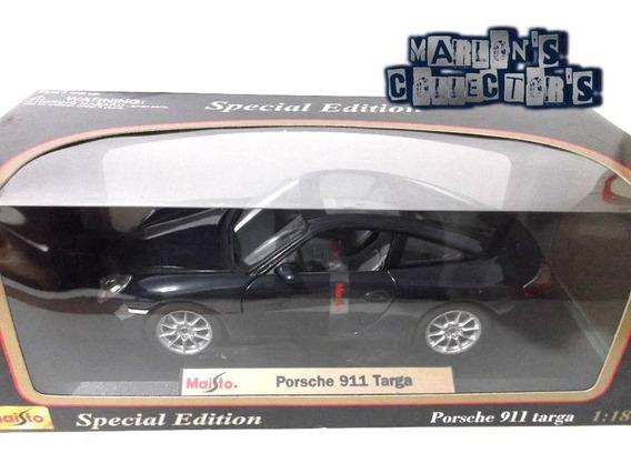 Porsche 911 (996) Targa Maisto Special Edition Escala 1/18