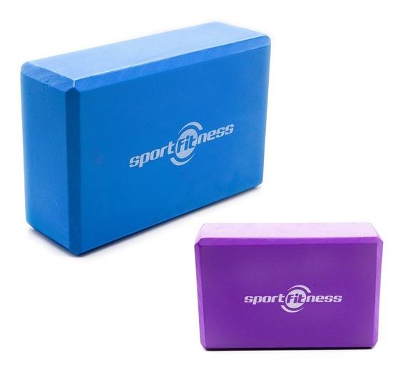 Cubo Para Yoga Bloque Sportfitness Gym