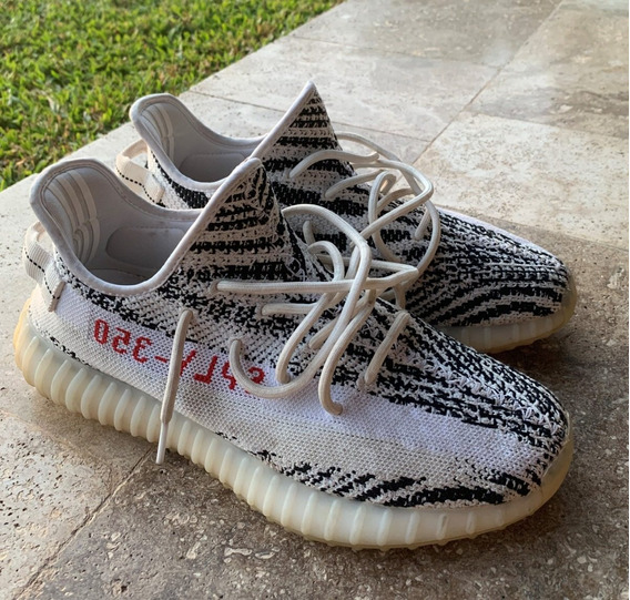 adidas Yeezy Boost 350 V2 Zebra Us 10.5 Como Nuevas!!!
