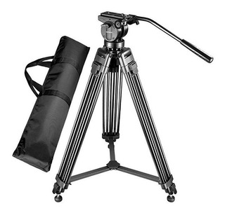 Tripie Profesional 160cm Cabezal Fluido Video Canon Nikon