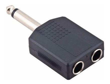 10 Adaptadores Duplicadores P10 X 2 P10 Mono Mesa Mic Fone