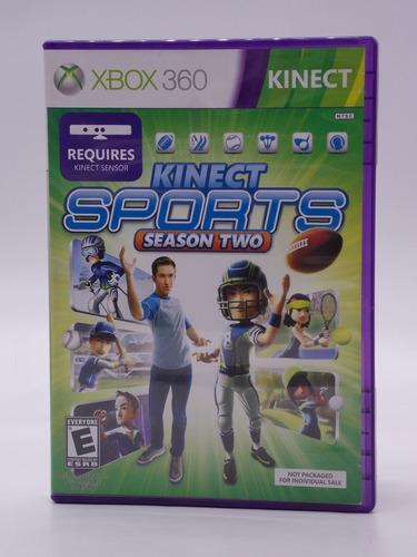 Kinect Sports Season Two Xbox 360 Original Mídia Física