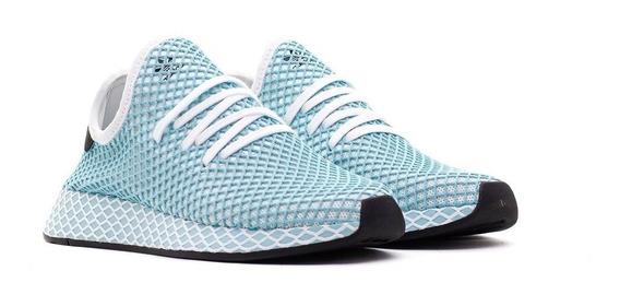 Tenis adidas Deerupt Runner Parley Mujer Running Casuales