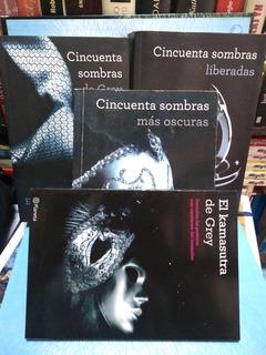Cincuenta Sombras De Grey. Trilogía+ Obsequio. Libro Físico