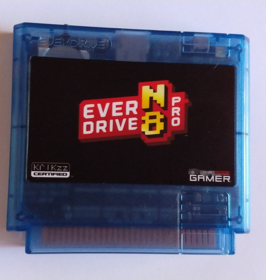 Everdrive N8 Pro Famicom 60 Pinos Original Krikzz
