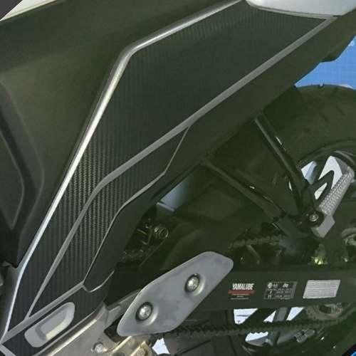 Adesivo Protetor Tampa Lateral Ca Moto Yamaha Fazer 250 Fz25