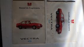 Manual Do Proprietario Vectra 1994 Certificado Garantia