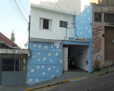 Casa Comercial Assobradada Para Locação No Centro Da Cidade De Jundiaí, Sp. Próximo A Agência Sajotur (são João De Turismo) - Cm00079 - 34100884