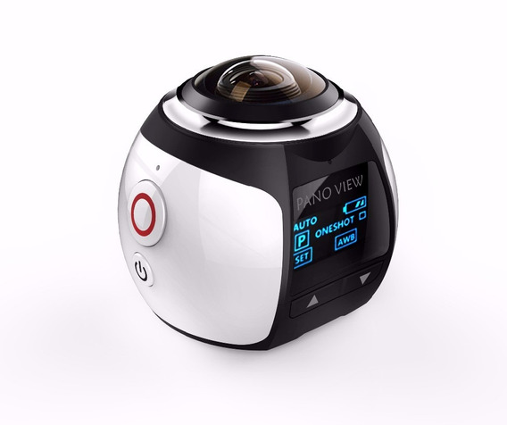 Câmera Mini 360° Wi-fi + Óculos Vr-max 3d