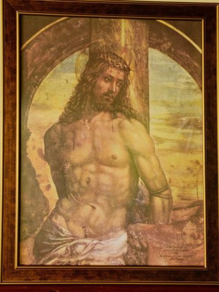 Cristo Gravura - Cristo Na Coluna - 1 Unidade