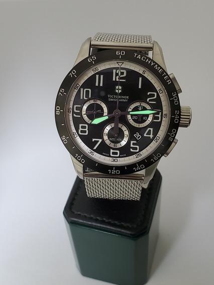 Victorinox Relógio Automatico Cronógrafo Suíço Eta7753 Novo