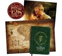 Livro O Senhor Da Fantasia J. R. R. Tolkien Poster 125 Anos