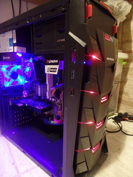 Pc Gamer Barato Intel Com Placa Video R7 250 2gb Ssd Hd 320