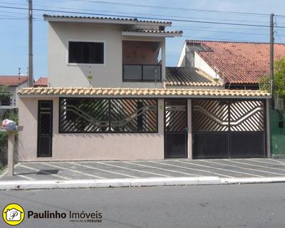 Casa Para Venda E Temporada A 150 Metros Da Praia De Peruíbe. Localização Privilegiada! - Ca02697 - 4915091