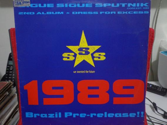Lp Sigue Sigue Sputinik - 1989 Brazil Pre-release!!